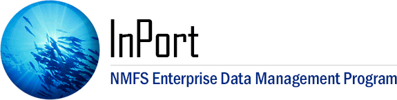 InPort | NMFS Enterprise Data Management Program